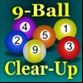 9 Ball clear-up Game